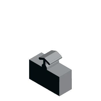 Guarnição em Borracha GUA 346 - Guarnição do Vidro 8mm